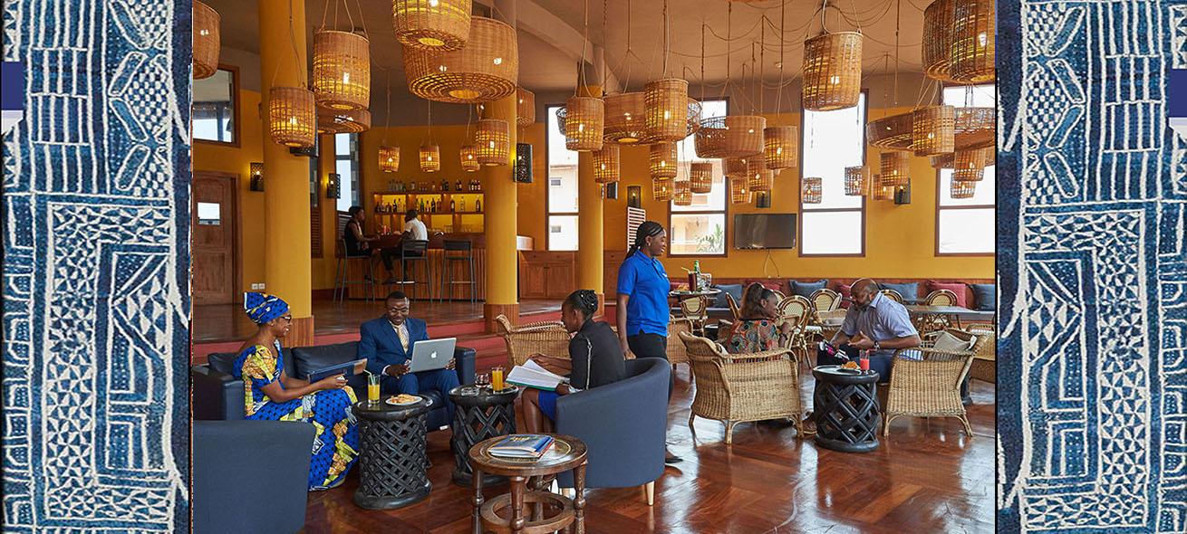 Reception   Hôtel Zingana