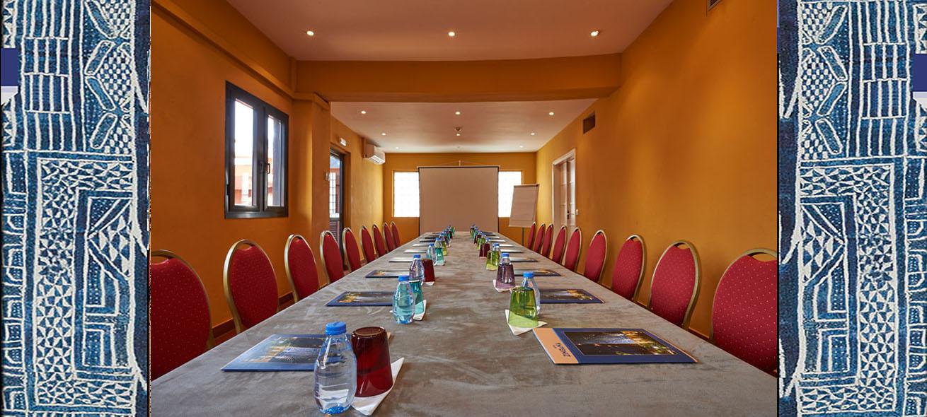 salle de réunion | Hôtel Zingana